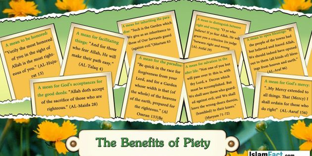 BenefitsOfPiety